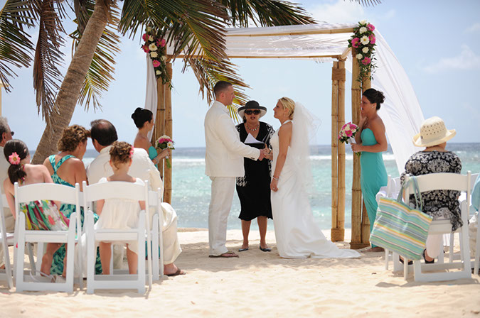 Jewish Rituals at Cayman Beach Wedding - image 2
