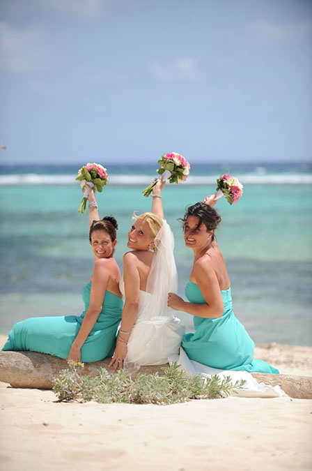 Jewish Rituals at Cayman Beach Wedding - image 7